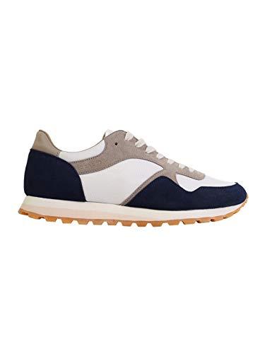Scalpers Marshall Sneakers - Sneaker para Hombre, Talla 43, Color Azul Marino