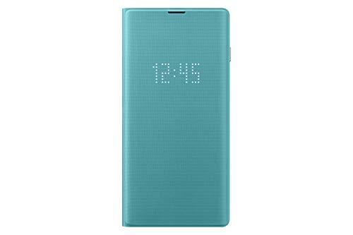 Samsung Galaxy S10 LED Wallet Case, Green, EF-NG973PGEGUS