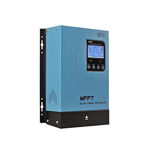 OAE 60A MPPT Solar Charge Controller 60amp Panel Battery Charger Controller 48V 36V 24V 12V Auto Max 150VDC Input Sealed Gel AGM Flooded Lithium Battery
