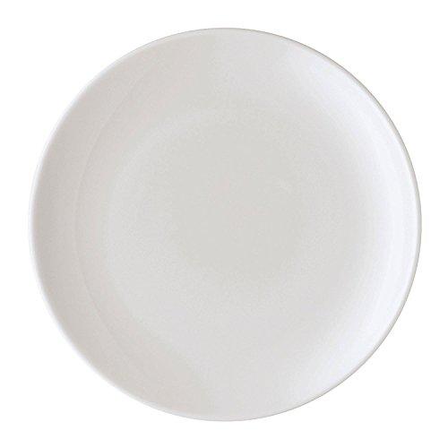 Arzberg Form 2000 Weiss Speiseteller 25 cm, Porzellan, White, 26 x 26 x 8 cm