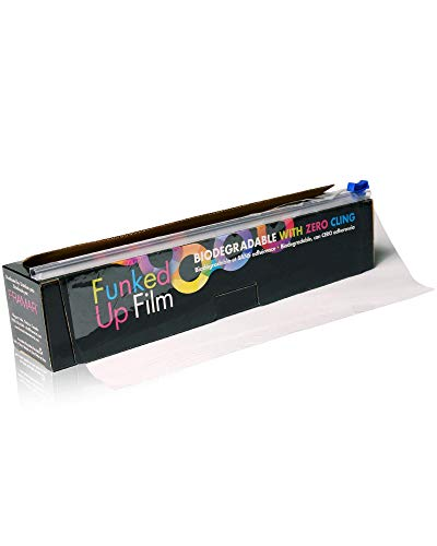 Framar Cling-Free Funked up Film, Saran Wrap for Balayage with hair bleach, hair dye - 300 Feet