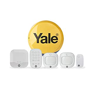 Yale IA-320 Sync Smart Home Alarm, works with Alexa, Google & Philips Hue. 6-piece kit, Self-Monitored, Geofencing, 200m range, integrates with Yale Smart Locks (B07FR78X16) | Amazon price tracker / tracking, Amazon price history charts, Amazon price watches, Amazon price drop alerts
