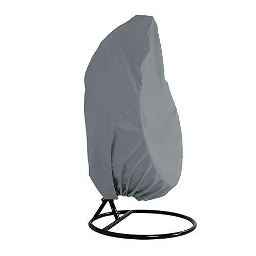 Fxhan Hangstoel voor buiten, heavy duty Egg swing, stofbescherming, outdoor, tuin