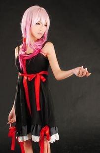 Sunkee Guilty Crown Cosplay Yuzuriha Inori Kleid, Größe L ( Alle Größe Sind Wie Beschreibung Gesagt, überprüfen Sie Bitte Die Größentabelle Vor Der Bestellung )