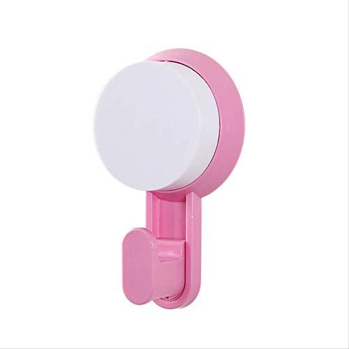 FHFF Haken wandhaak voor keuken badkamer absorberend absorberend badjas haak roze