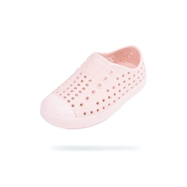 Native Shoes Girl's Jefferson (Little Kid/Big Kid) Dust Pink/Lint Pink 1 Little...
