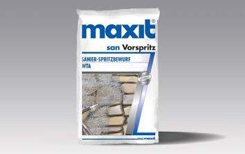 maxit san Vorspritz, Sanier-Spritzbewurf WTA, 30kg
