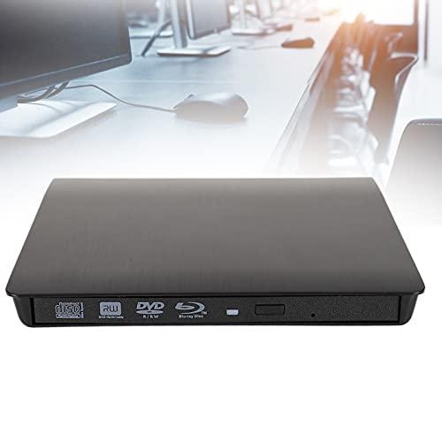 SUIDSFKDFJS Unidad de CD DVD USB Externa, Unidad de Disco Duro USB 3.0 Lector de Unidad de Reproductor óptico Adecuado para Unidad de CD estándar de 12,7 mm / 0,5 Pulgadas y CD-ROM HD