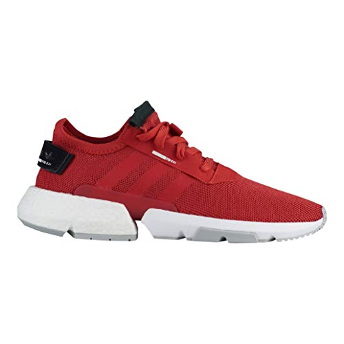 adidas POD-S3.1 Shoes Men's, Tactile Red/Tactile Red/Cloud White, 11.5