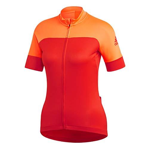 adidas Maglietta da Ciclismo da Ciclismo, Donna, CW1767, Hireor/Hirere, XS