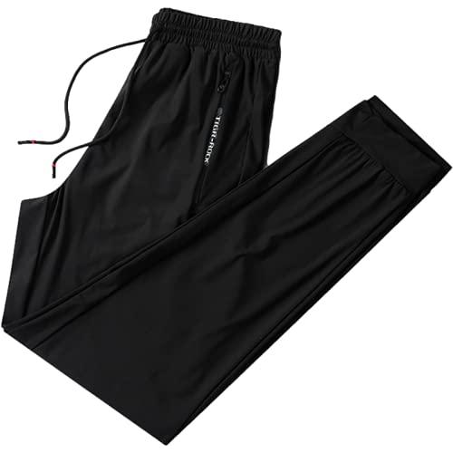 Pantalones Casuales para Hombre, Pantalones Deportivos cómodos y Transpirables Sencillos de Verano, Pantalones Deportivos Holgados Informales de Gran tamaño para Todos los Partidos 5XL
