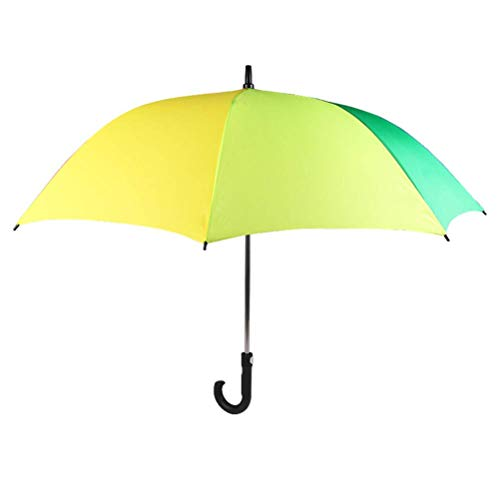 ZHANGYY Folding Umbrella Compact Quick-Drying Travel Umbrella Solid Wood Handle Automatic Opening and Closing Ventilation and Windproof Double Awning Men and Women
