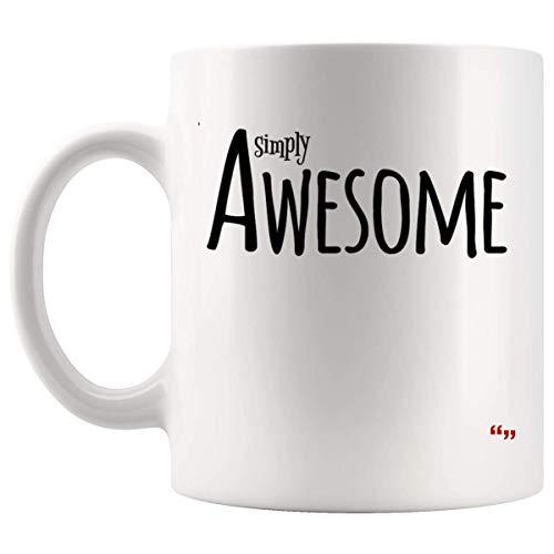 Not Applicable Joke Gag Mug Sport Coffee Cup - Coworker Team Mugs Simply Awesome lettrage Design Meilleur ami Cadeau d'anniversaire