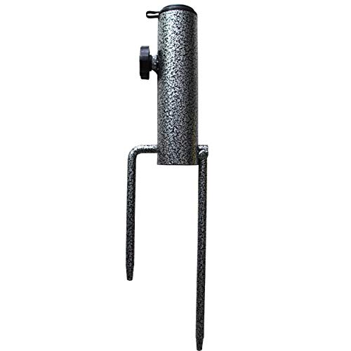 AMMSUN Patio Umbrella Steel Anchor Beach Umbrella Heavy Duty Metal