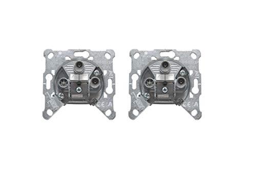 Triax EDS 322 F 3-Fach Antennen Twin Satdose (2 Stück)