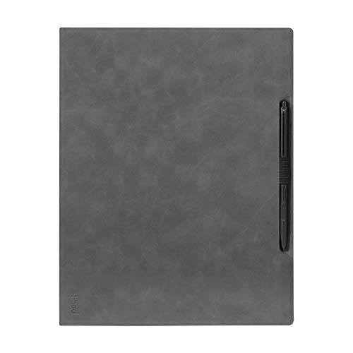 Jingdu Skin-Friendly Non-Folding Case for Onyx Boox Note Pro 10.3 Paper Tablet,Premium PU Leather Lightweight Smart Cover with Pencil Holder
