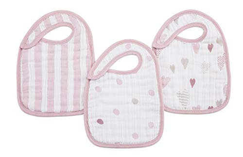 aden + anais snap Bibs 3 Pack, Rock Star