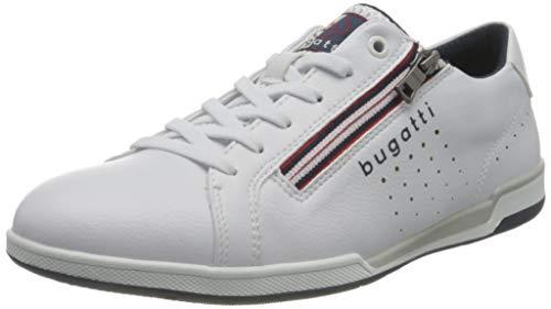bugatti Herren 321726075000 Sneaker, Weiß, 44 EU