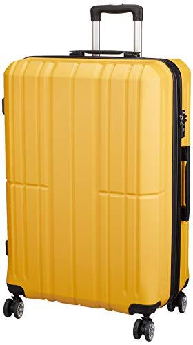 [アイダディ] 【idadi】軽量キャリーケース スーツケース M-7035 保証付 80L 70 cm 4.7kg M7035L-50 イエロー