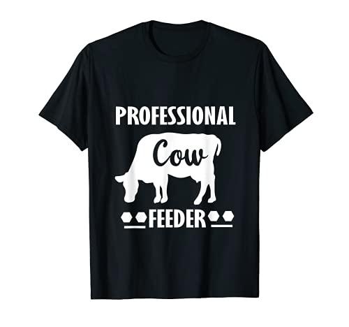 Farmer - Comedero profesional para vacas Camiseta