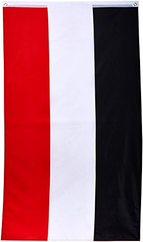 Flaggenking Fahne, Deutsches Kaiserreich Kaiserflagge, schwarz/weiß/rot, 150 x 90 x 1 cm, 16924