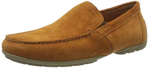 Geox U Moner V, Mocassins (Loafers) Homme, Orange (DK...