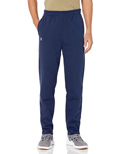 Russell Athletic Men's Cotton Rich 2.0 Premium Fleece Sweatpants, Navy, S