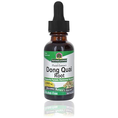Nature\'s Answer, Dong Quai (Angelica Sinensis), Alkoholfrei, 1000 mg, 30 ml