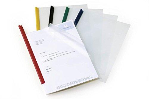 DURABLE Klemmschienenhülle 1 100 Blatt A4, aus PP transparent 10