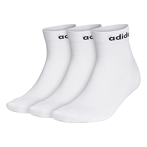 adidas HC Ankle 3PP Calcetines, Unisex Adulto, Blanco, M