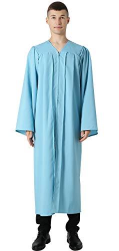 IvyRobes Chor Klerus Chorrobe Priester Robe Taufen Kostüm Herren Damen Unisex Erwachsene Abschluss Talar