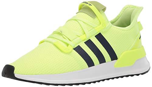 adidas Originals Men's U_Path Running Shoe, Hi-Res Yellow/Collegiate Navy/White, 10