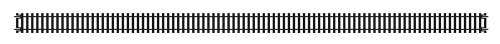 Jouef - JR603 - Modélisme - Rail Droit Long - 670 mm