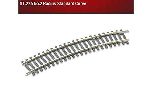 Peco ST-225 No.2 Radius Standard Curve, 438mm (17¼in) radius