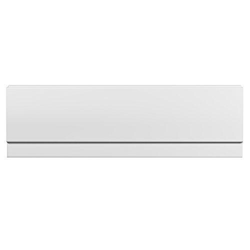 Hudson Reed Badewannenverkleidung - Frontpaneel für Badewannen in Weiß - 1700 mm