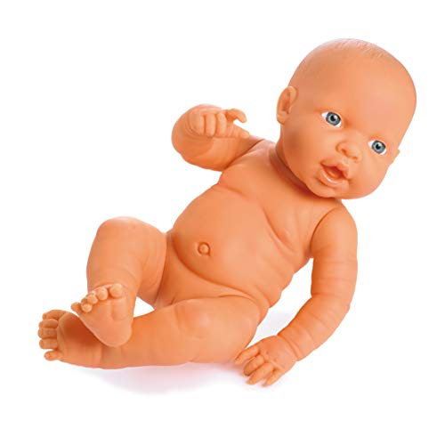 Bayer Design 94200AC Neugeborenen Baby, Mädchen, lebensecht, 42 cm, hellhäutig