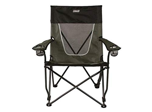 Coleman Ultimate Comfort Folding Sling Chair, Gray