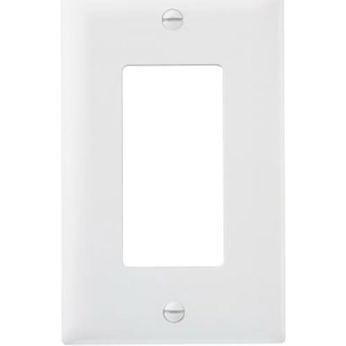Pass & Seymour TP26WCP TradeMaster One-Gang One-Decorator Wall Plate, White (10 Pack)