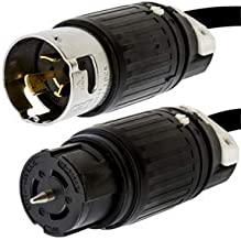 15 ft 50A 14-50P to CS6364 Locking Power Cord Iron Box # IBX-6910-15 125//250V 15 ft