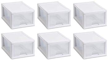 Sterilite 20518006  Sackable Storage Drawer Pack of 6