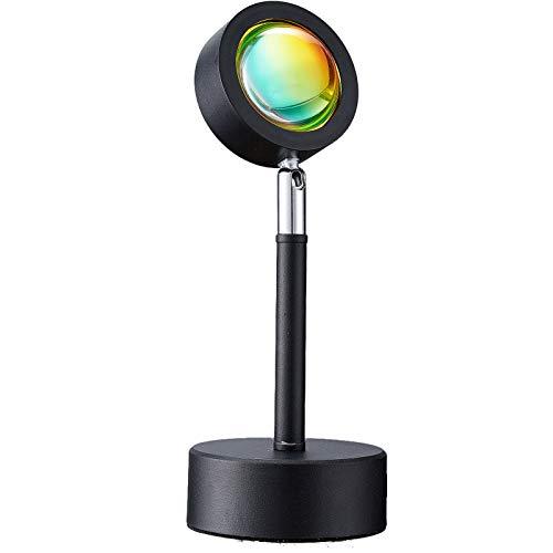 ZTAQIY 2021 New Rotation Projection Lamp Rainbow Romantic Visual Led Light with USB Floor Stand...
