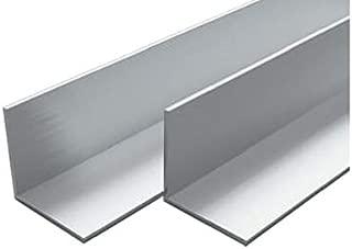 Festnight Barre Angolari in Alluminio 4 pz con Profilo a L 2m 30x30x2mm