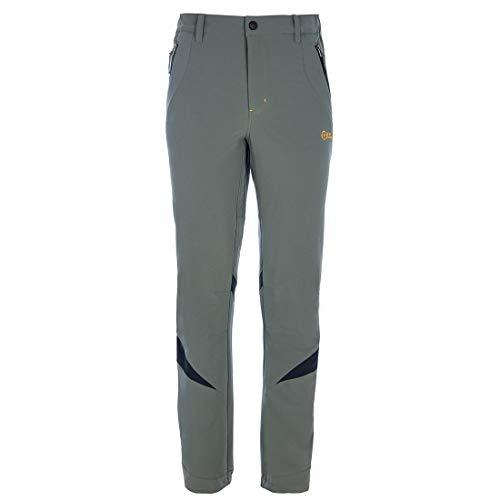 Great Escapes Pantalone Estivo Escursione e Trekking Uomo EQUADOR, Steeple Grey 48 IT