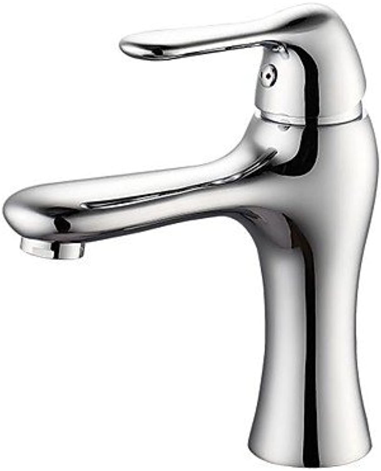 Lozse HonaPopular Style Duckbilled Modelling Electroplate Brass One Hole One Single Handle Cold And Hot Basin tap