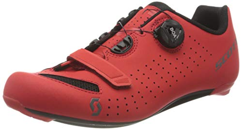 SCOTT 251817, Scarpa Ciclismo Uomo, Matt Red/BK, 43.0