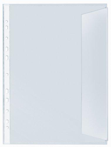 Veloflex 5345000 Dokumentenhüllen, DIN A4 dokumentenecht, 10er SB-Packung
