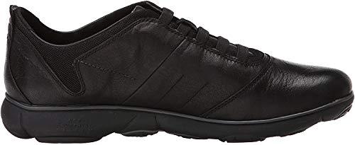Geox U NEBULA B Herren Sneakers, Schwarz (Blackc9999), 43 EU