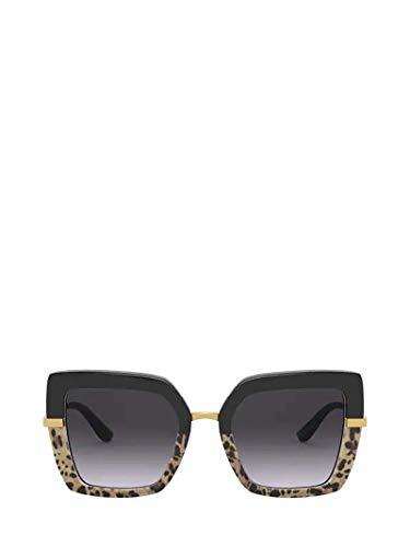Dolce e Gabbana Luxury Fashion Damen DG437332448G Multicolour Acetat Sonnenbrille | Jahreszeit Permanent