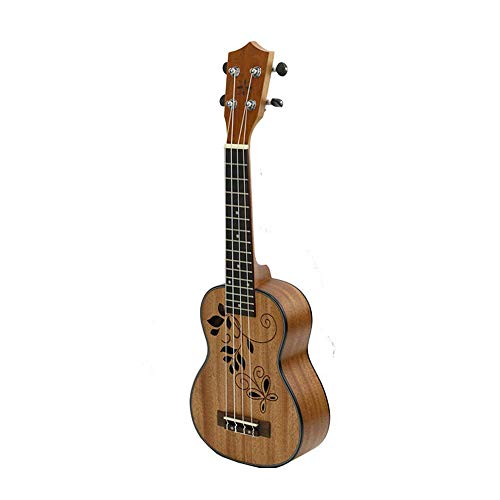 North King Gitarre acoustic27 Zoll Mahagoni Ukulele hohlen Schallloch viersaitiges Klavier Gitarre Musik Gestaltungsinstrument