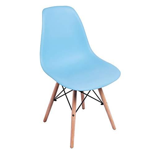 Regalos Miguel - Sillas Comedor - Silla Tower Basic - Azul Celeste - Envío Desde España